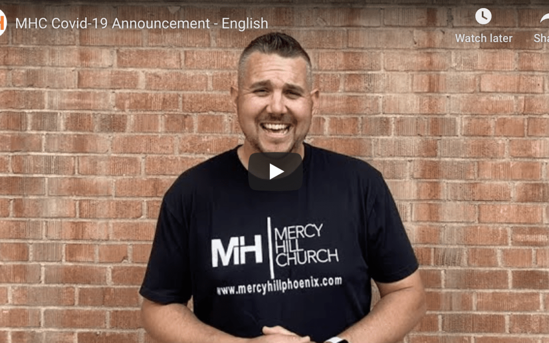 MHC Covid-19 Announcement