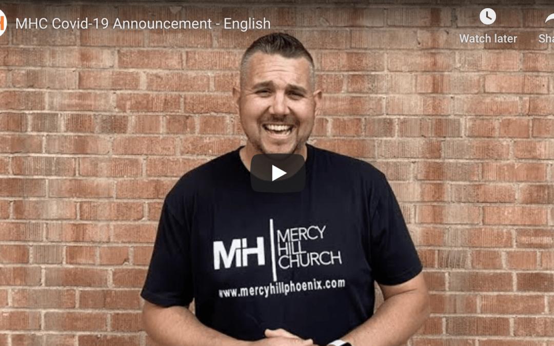 MHC Covid-19 Announcement